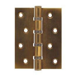 Петля дверная 4BB-CF (универсальная врезная, цвет: кофе)