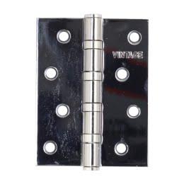 Петля дверная 4BB-CP (универсальная врезная, цвет: хром)