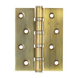 Петля дверная B4-AB (универсальная врезная на подшипниках, цвет: бронза)