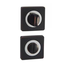 Завертка дверная BK02BL (сантехническая, черный с патиной)