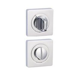 Завертка дверная BK02CP (сантехническая, хром)
