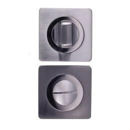 Завертка дверная BK02L (сантехническая, матовый хром)