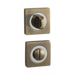 Завертка (накладка) дверная BK02Q (сантехническая, бронза)