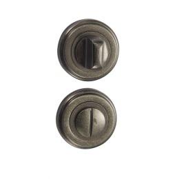 Завертка дверная BK03AS (сантехническая, состаренное серебро)