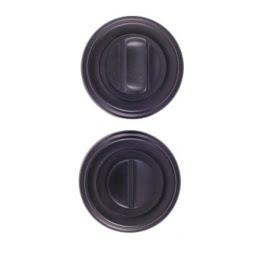 Завертка дверная BK03BL (сантехническая, черный)