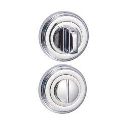 Завертка дверная BK03CP (сантехническая, хром)
