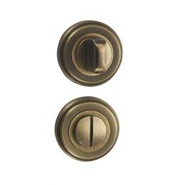 Завертка дверная BK03M (сантехническая, матовая бронза)