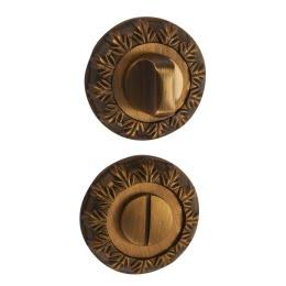 Завертка дверная BK10CF (сантехническая, кофе)