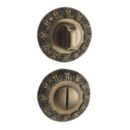 Завертка дверная BK10M (сантехническая, матовая бронза)