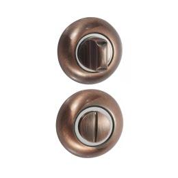 Завертка (накладка) дверная BKR (сантехническая, медь)