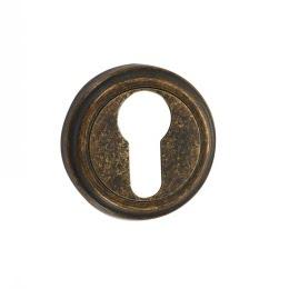 Накладка под цилиндр ET03BR (состаренная бронза)