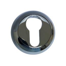 Накладка под цилиндр ETCP (хром)