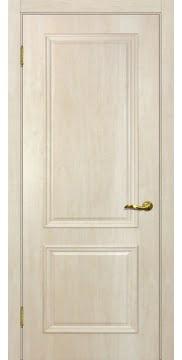 Межкомнатная дверь SK012 (экошпон «дуб млечный » / глухая) — 0003
