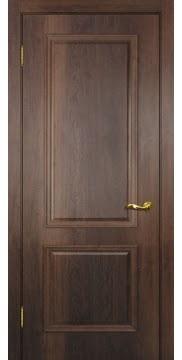 Межкомнатная дверь SK012 (экошпон «дуб коньяк» / глухая) — 0005