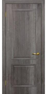 Межкомнатная дверь SK012 (экошпон «трюфель» / глухая) — 0007