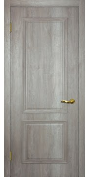 Межкомнатная дверь SK012 (экошпон «трюфель светлый» / глухая) — 0009