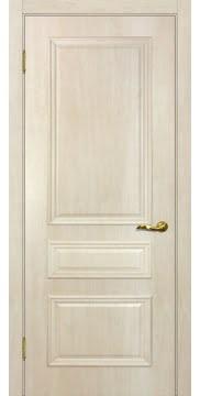 Межкомнатная дверь SK013 (экошпон «дуб млечный » / глухая) — 0013