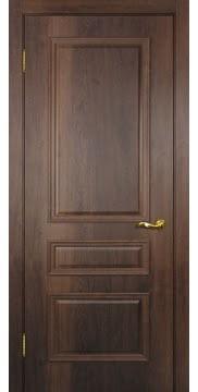 Межкомнатная дверь SK013 (экошпон «дуб коньяк» / глухая) — 0015
