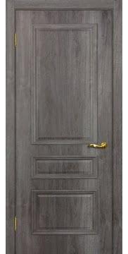 Межкомнатная дверь SK013 (экошпон «трюфель» / глухая) — 0017