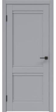 Межкомнатная дверь, FK003 (экошпон серый, глухая)