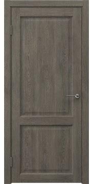 Межкомнатная дверь FK004 (экошпон «серый дуб» / глухая) — 0256