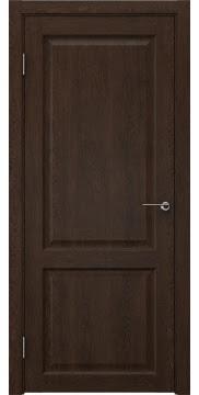 Дверь FK004 (экошпон дуб шоколад, глухая)