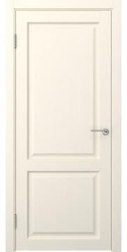 Межкомнатная дверь FK004 (экошпон «ваниль» / глухая) — 0253