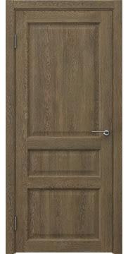 Межкомнатная дверь FK005 (экошпон «дуб антик» / глухая) — 0268