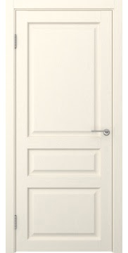 Межкомнатная дверь FK005 (экошпон «ваниль» / глухая) — 0274