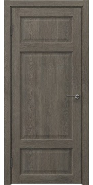 Межкомнатная дверь FK006 (экошпон «серый дуб» / глухая) — 0298