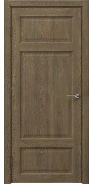 Межкомнатная дверь, FK006 (экошпон дуб антик, глухая)