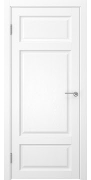 Дверь FK006 (экошпон ясень белый, глухая)