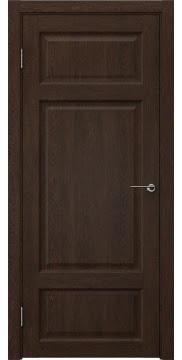 Межкомнатная дверь FK006 (экошпон «дуб шоколад» / глухая) — 0304