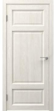Дверь FK006 (экошпон белый дуб, глухая)