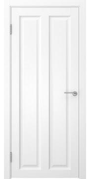Межкомнатная дверь, FK007 (экошпон ясень белый, глухая)