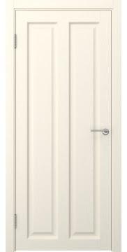 Классическая дверь, FK007 (экошпон ваниль, глухая)