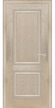 Межкомнатная дверь FK009 (экошпон «дуб английский кремовый» / глухая) — 0726