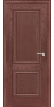 Межкомнатная дверь FK009 (экошпон «дуб английский темный» / глухая) — 0730