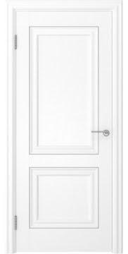 Межкомнатная дверь, FK009 (экошпон ясень белый, глухая)