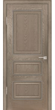 Межкомнатная дверь FK011 (экошпон «дуб английский бежевый» / глухая) — 0742