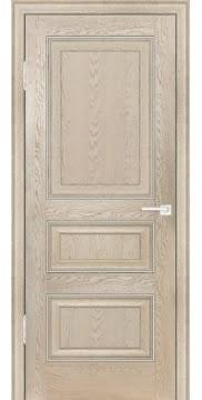 Межкомнатная дверь FK011 (экошпон «дуб английский кремовый» / глухая) — 0744