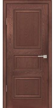 Межкомнатная дверь FK011 (экошпон «дуб английский темный» / глухая) — 0748