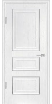 Межкомнатная дверь FK011 (экошпон «ясень белый» / глухая) — 0750