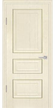 Межкомнатная дверь, FK011 (экошпон ваниль, глухая)