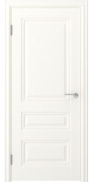 Дверь классика, МДФ FK012 (экошпон слоновая кость, глухая)