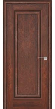 Межкомнатная дверь FK013 (экошпон «дуб английский темный» / глухая) — 0712