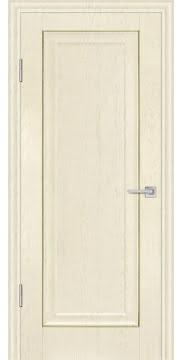 Межкомнатная дверь, FK013 (экошпон ваниль, глухая)