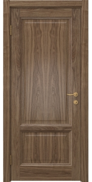 Межкомнатная дверь FK014 (шпон американский орех / глухая) — 5144