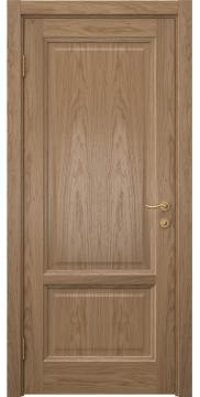 Межкомнатная дверь FK014 (шпон дуб светлый / глухая) — 5139