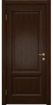 Межкомнатная дверь, FK014 (шпон дуб коньяк, глухая)